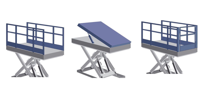 Different load platforms