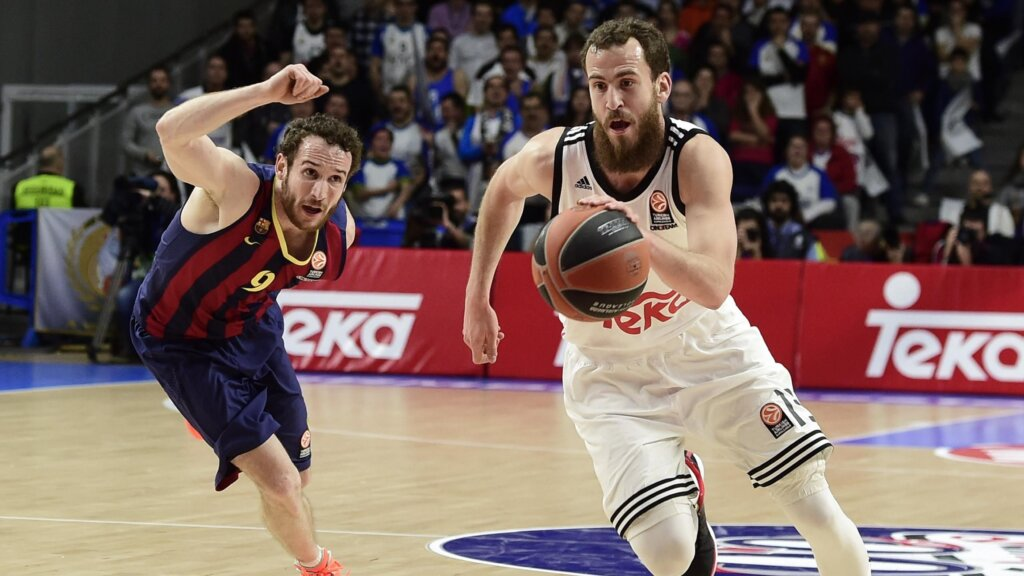 Барселона - Реал баскетбол
