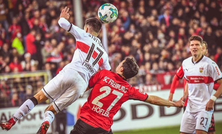Фрайбург- штутгарт футбол