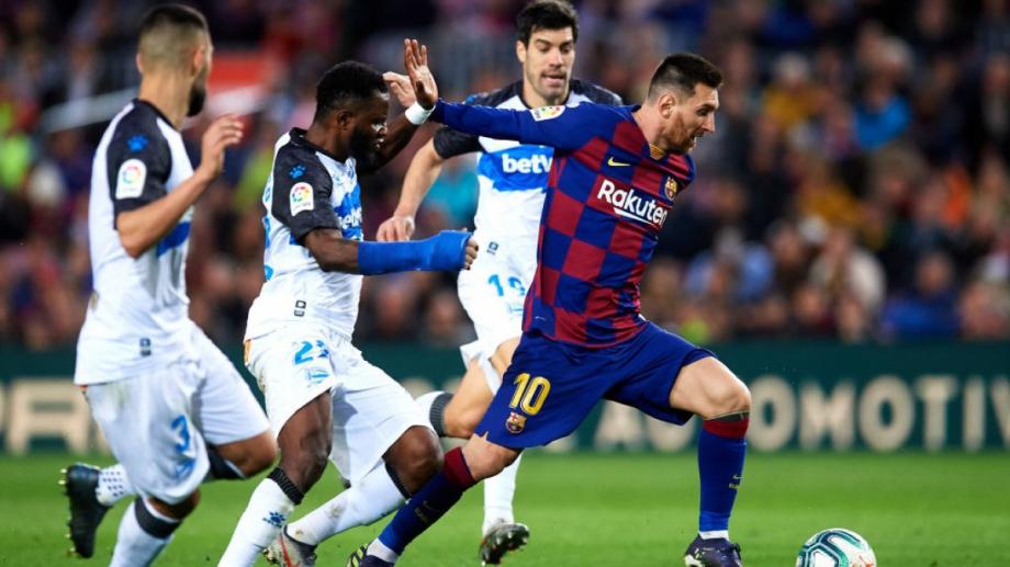 прогноз на 13.02.2021. «Барселона» - «Алавес»