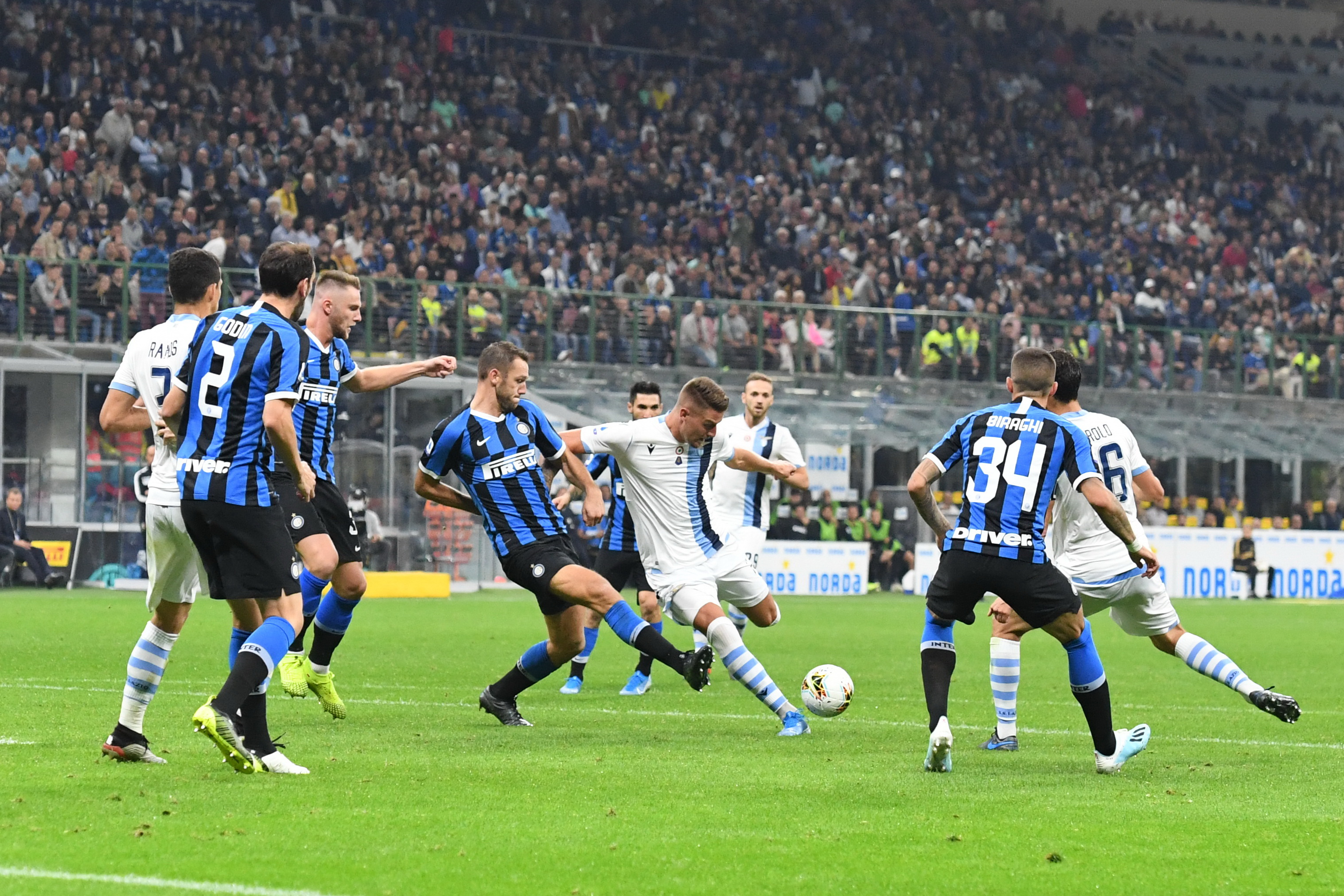 прогноз на 14.02.2021. «Интер» - «Лацио»